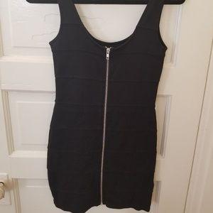 H&M Reversible Zip-Up Bodycon Dress